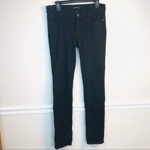 Ann Taylor black Pants Straight size 6 stretchy